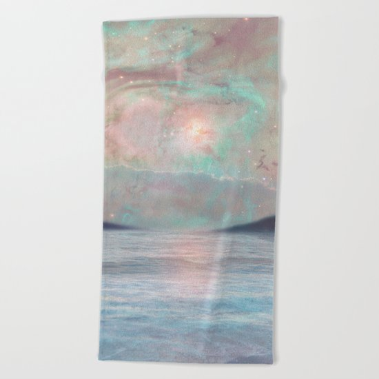 Under the Stars Beach Towel