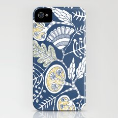 lush vine iPhone (4, 4s) Slim Case