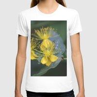 copenhagen T-shirts featuring Copenhagen Yellow by Abby Hoffman