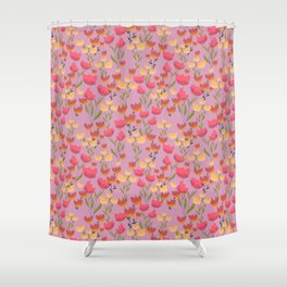 Tip toeing through the tulips  Shower Curtain