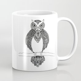 Intricate night owl doodle Coffee Mug
