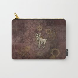 Steampunk Zodiac Aries Carry-All Pouch