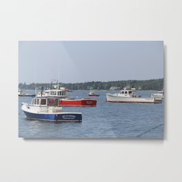 Red, White, and Blue Metal Print
