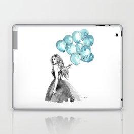 Balloons Turquoise  Laptop & iPad Skin
