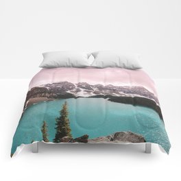 Moraine Lake Banff National Park Comforters