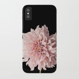 Pink Daliah iPhone Case