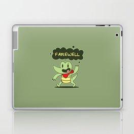 Farewell Croc Laptop & iPad Skin
