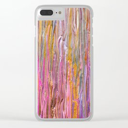 Millennium Pink Party Clear iPhone Case