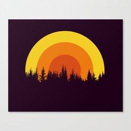 summer mountain Canvas Print