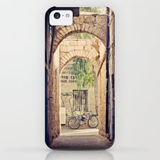 Jerusalem Alley with Bicycle Slim Case iPhone 5c