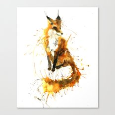 Bushy Tailed Canvas Print
