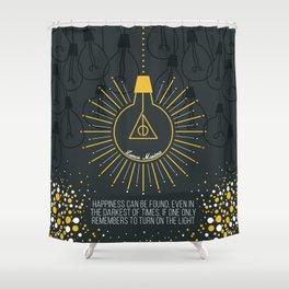 Lumos Maxima Shower Curtain
