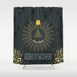 Lumos Maxima Shower Curtain