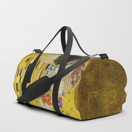 The Kiss, Gustav Klimt Duffle Bag