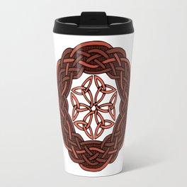 Celtic Knotwork Circle Travel Mug
