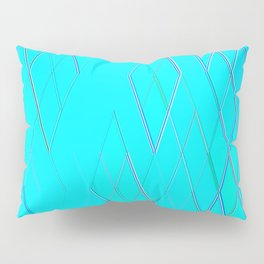 Re-Created Vertices No. 6 by Robert S. Lee Pillow Sham