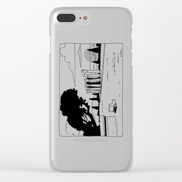 Temple of Zeus Clear iPhone Case