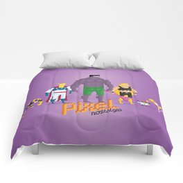 Dexter's Lab - Pixel Nostalgia Comforters