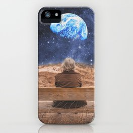 PLANET EARTH, THE UNIVERSE AND I iPhone Case