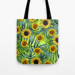 Sunflower Party #3 Tote Bag
