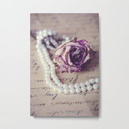 Love Letter II Metal Print