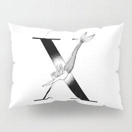 Mermaid Alphabet Series - X Pillow Sham
