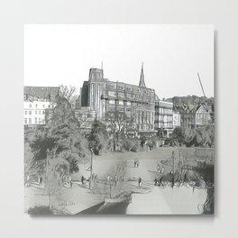 Bournemouth Gardens Metal Print