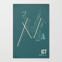 ICT Canvas Print