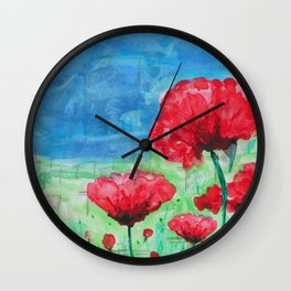 They Shall Not Grow Old Wall Clock