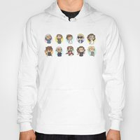 emoji Hoodies featuring Emoji 1D by Cyrilliart