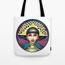 Golden crown Tote Bag