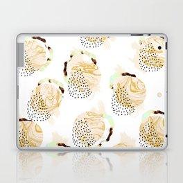 Abstract marble circles Laptop & iPad Skin