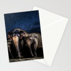 Cute Elephant Family Stationery Cards