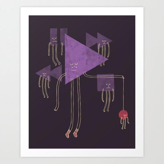 The Joy of Playing Art Print