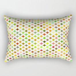 background multicolored star Rectangular Pillow