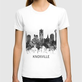 Knoxville Tennessee Skyline BW T-shirt