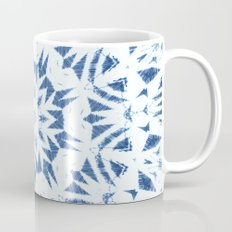 Snowflake Denim & White Mug