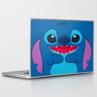 stitch Laptop & iPad Skins featuring stitch by customgift