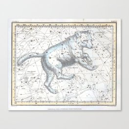 Ursa Major Constellation Canvas Print