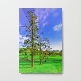 The Three Trees Metal Print