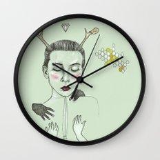 kış (winter) Wall Clock