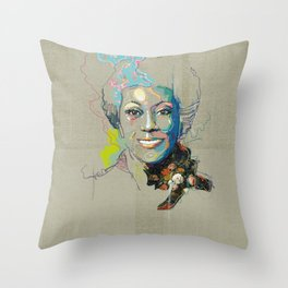 Marlena Shaw Throw Pillow