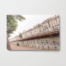 Canal View Metal Print