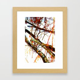 paintbrush colors Framed Art Print