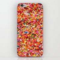 sprinkles iPhone & iPod Skins featuring Sprinkles! by MartiniWithATwist