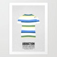 Abduction - minimal poster Art Print