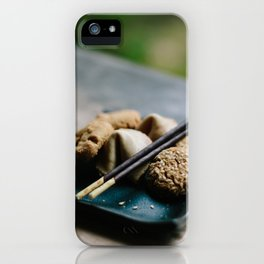 Japanese Cookies // San Francisco, California iPhone Case