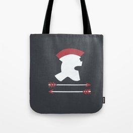 Roman Helmet Tote Bag