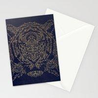 Ornamental Tiger Stationery Cards