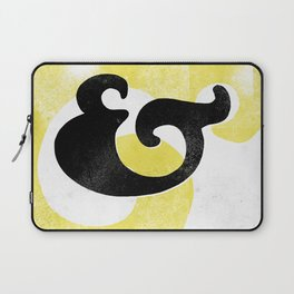 Goudy Stout Ampersand Laptop Sleeve